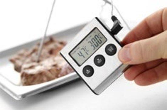 Digitale Braad thermometer en Timer