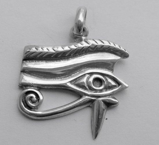 Zilveren hanger Horus, Oog van
