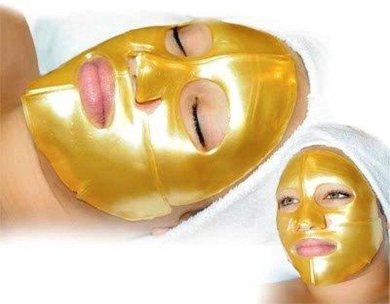 Bol Gold Bio Collagen Gezichtsmasker. Gold Bio Collagen Crystal Mask Masker Topeng Emas