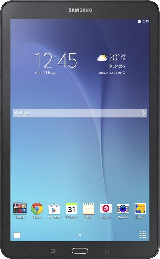 Samsung Galaxy Tab E - 9.6 inch - WiFi - 8GB - Zwart