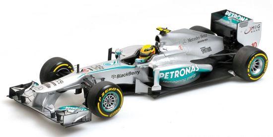 F1 Mercedes AMG Petronas F1 Team W04 L. Hamilton China GP 2013 1:18 Minichamps 110 130010