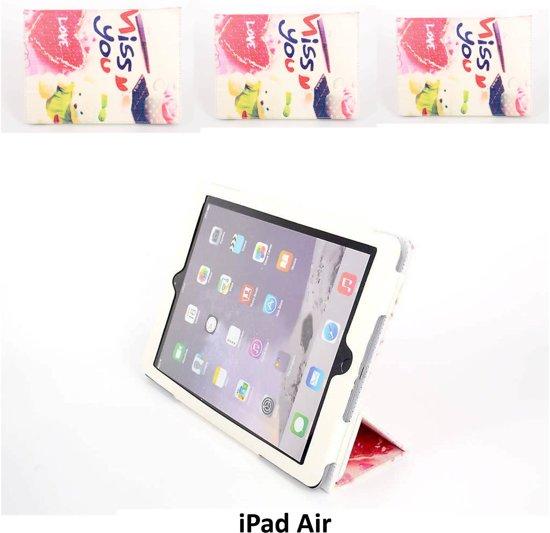 Apple iPad Air Smart Tablethoes Print voor bescherming van tablet