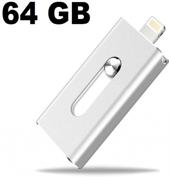 U het aansluiten van een flash drive om de iPhone