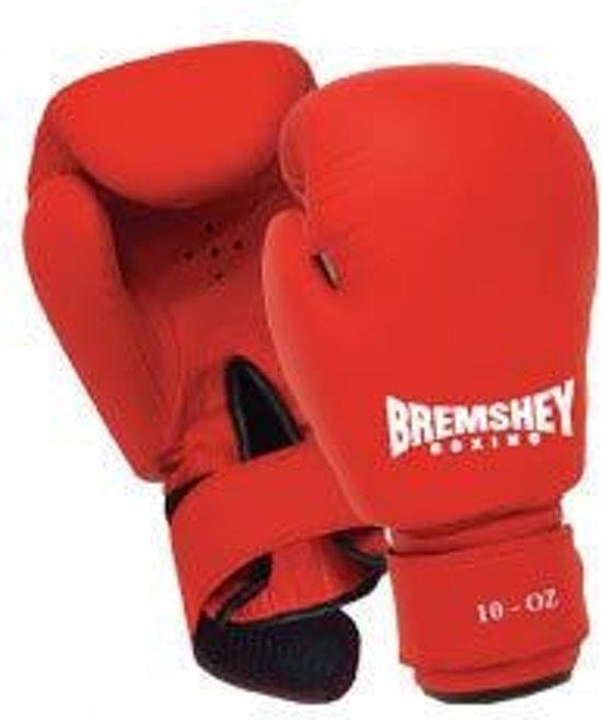 Bremshey FUN PU Bokshandschoenen Rood-8 oz.