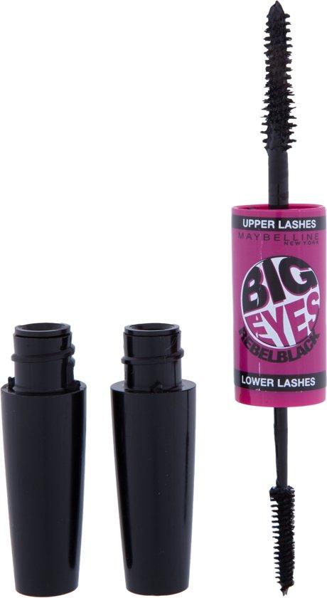 3eb2c703125 bol.com | Maybelline Big Eyes - Rebel Black - Mascara