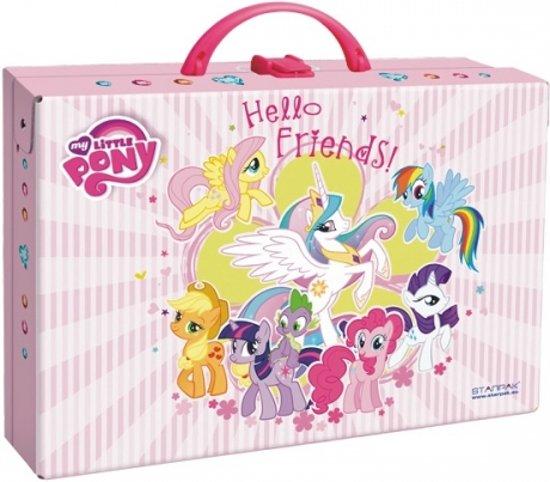 Afbeelding van het spel my little pony koffer
