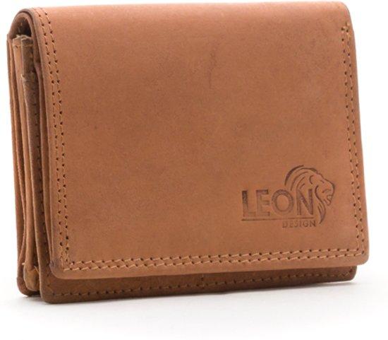 5b0edd34145 LeonDesign - 26-W02C1414-11 - hunter - bruin - dames - portemonnee -
