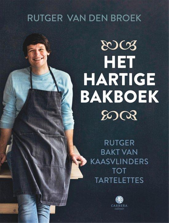 Boek cover Het hartige bakboek van Rutger van den Broek (Hardcover)
