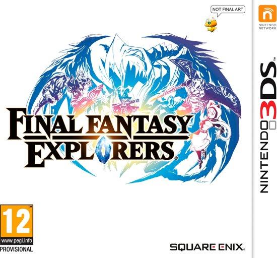 Final Fantasy Explorers - 2DS + 3DS