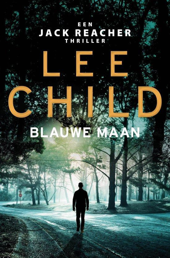 Boekomslag voor Jack Reacher 25 - Blauwe maan