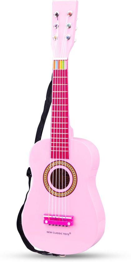 laag geprijsd premium selectie geautoriseerde site New Classic Toys - Speelgoed Gitaar met Draagriem - Roze