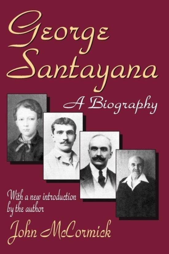 Boek cover George Santayana van John Rodden (Paperback)