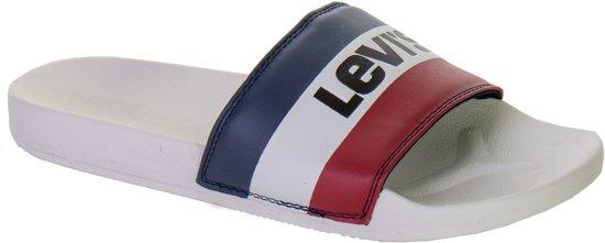 Sandalslippers Olympic Maat blauw zwart Mannen rood 42 Wit June Levi Ii qEtxI