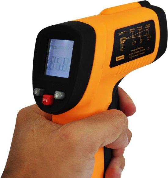 Infrarood Thermometer | -50°C - 380°C met Laserpointer