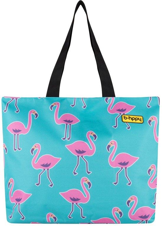Promo - BHPPY Strandtas - Go Flamingo