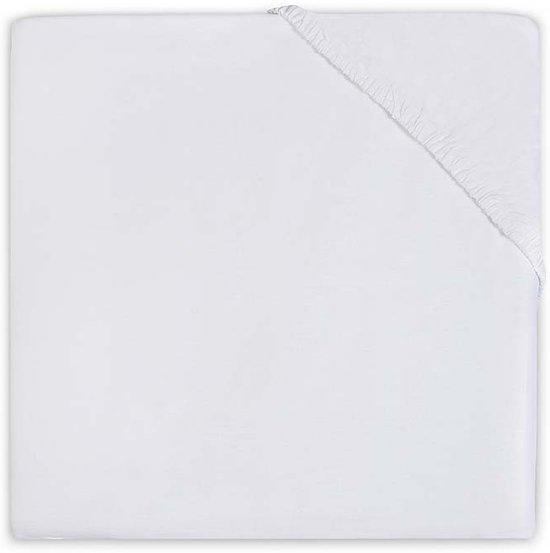Jollein Jersey - Hoeslakentje 70x140 cm - Wit