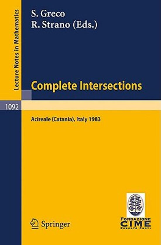 Complete Intersections