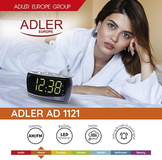Adler AD 1121 - Wekkerradio