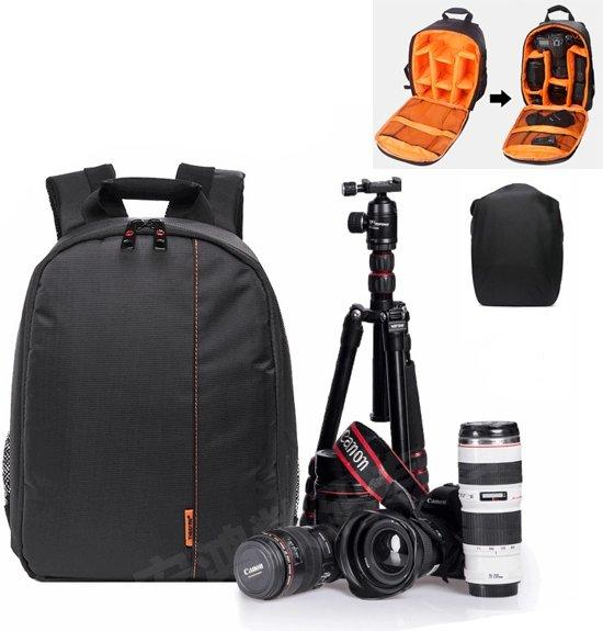 7c0bc235c2c bol.com | Professioneel Camera tas bag beschermhoes voor Canon Nikon