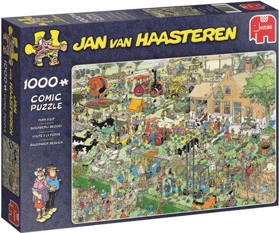 Boerderij Bezoek Jan van Haasteren - Puzzel - 1000 stukjes