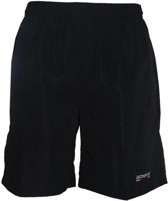 Donnay Micro Fibre Short - Sportbroek - Heren - Maat L - Zwart