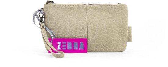8f00057affc bol.com | Zebra Trends Natural Bag Yasmine Clutch II - Beige