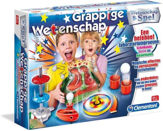 Clementoni Wetenschap & Spel Grappige Wetenschap - Experimenteerset