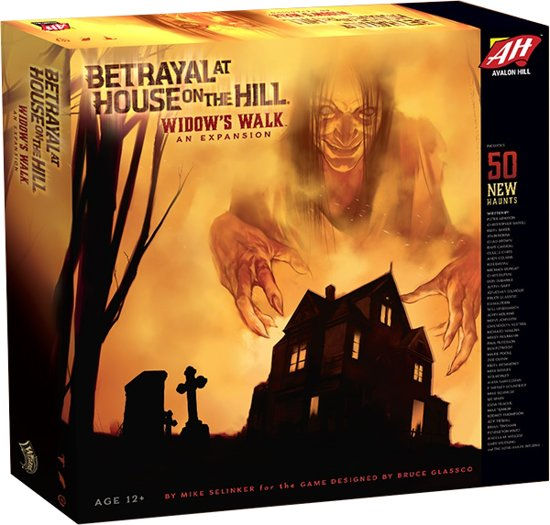 Betrayal at House on the Hill Widow's Walk - Uitbreiding
