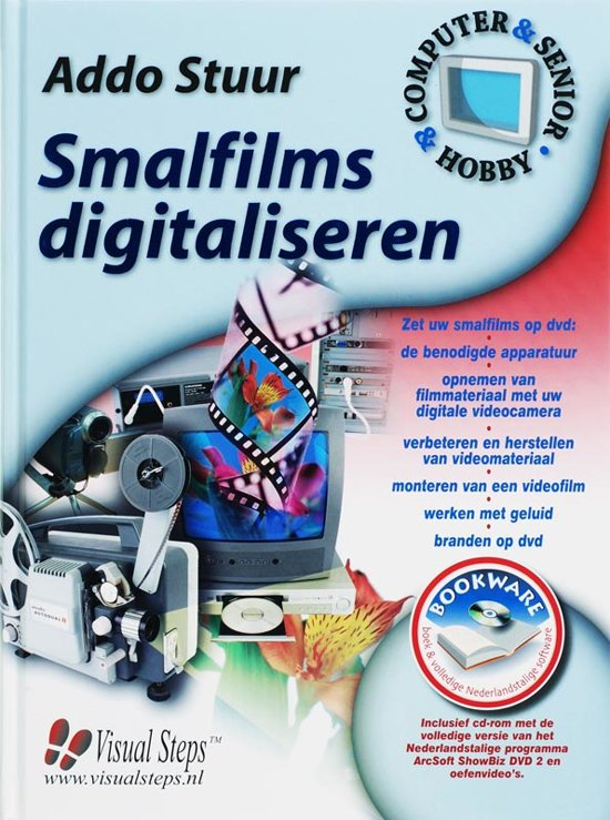 Smalfilm Digitaliseren + Cd-Rom