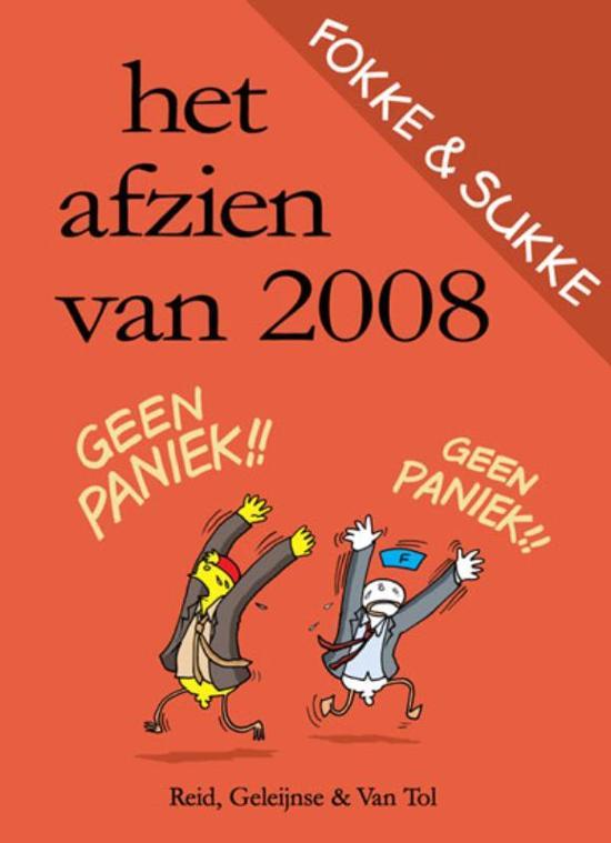 Fokke & Sukke / Het afzien van 2008