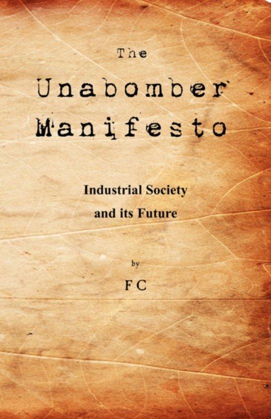 cover The Unabomber Manifesto