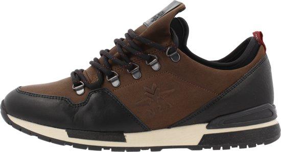 NZA NEW ZEALAND AUCKLAND Heren Sneakers Cheviot - Bruin - Maat 41
