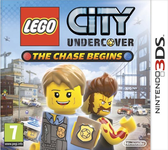 Lego City: Undercover - 2DS + 3DS