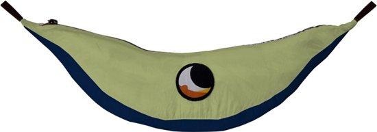 Ticket To The Moon - Hangmat - 2-persoons - blauw combi