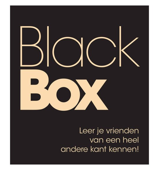 Boek cover Black Box van  (Paperback)
