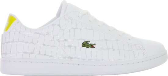 Lacoste Carnaby Evo 118 1 Spj Chaussures De Sport - Taille 35 - Unisexe - Blanc HWmKw00HH