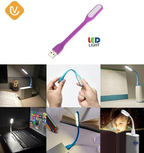 bol.com | LenV - Flexibele USB LED Lamp - Verlichting / Leeslamp ...
