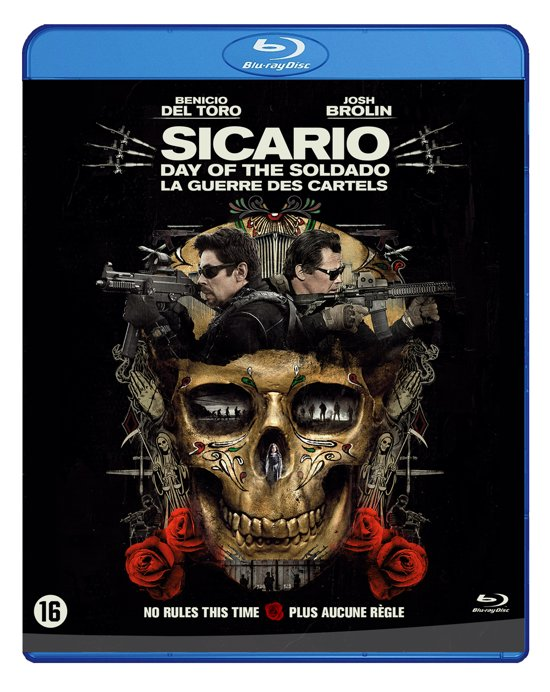 DVD cover van Sicario: Day of the Soldado (Blu-Ray)