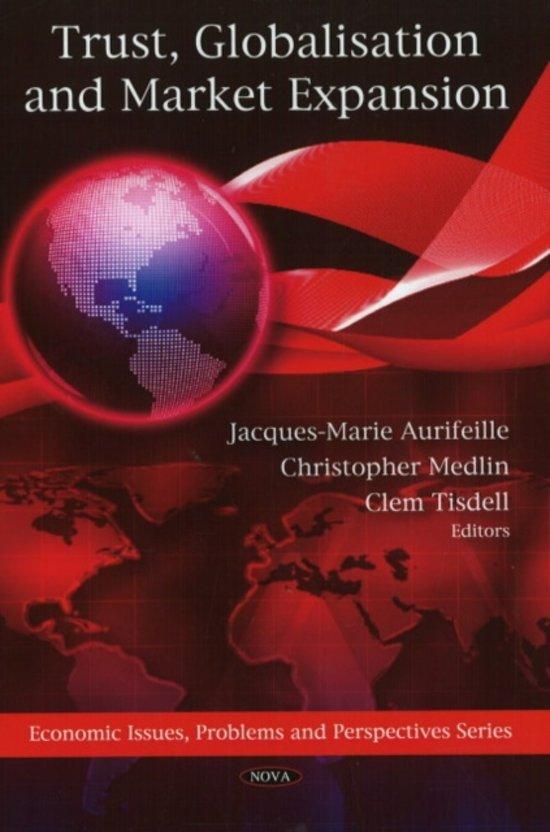 Trust, Globalisation & Market Expansion