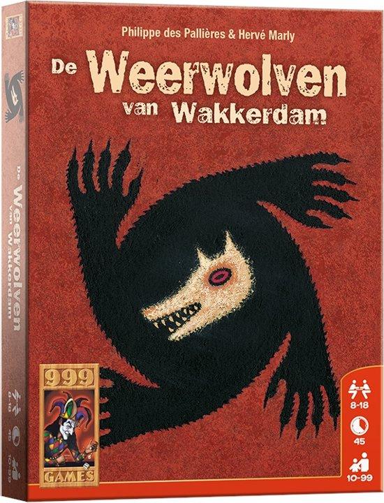 Afbeelding van Weerwolven van Wakkerdam - Kaartspel - Partyspel speelgoed