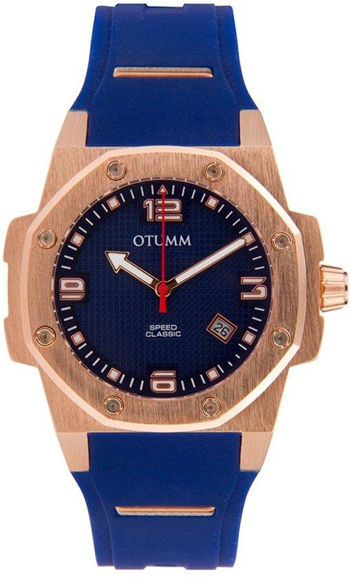 OTUMM Classi Speed 41mm Rose Gold Blue