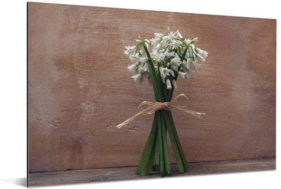 Een bosje daslook Aluminium 30x20 cm - klein - Foto print op Aluminium (metaal wanddecoratie)