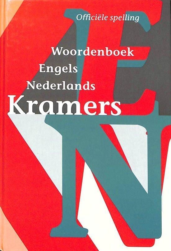 Engels-Nederlands Kramers handwoordenboek