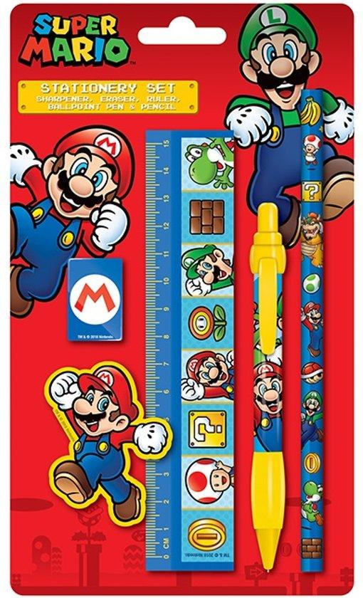 Afbeelding van Super mario stationary set