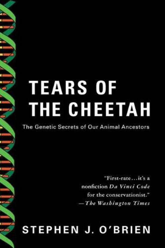 Bol Tears Of The Cheetah Stephen J Obrien 9780312339005
