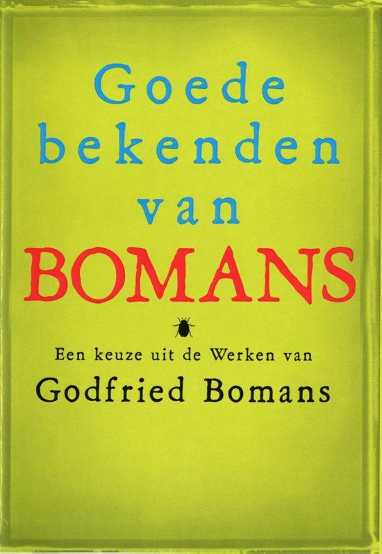 Bolcom Goede Bekenden Van Godfried Bomans Ebook