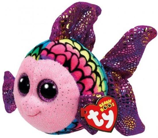 Ty Beanie Boo's Flippy pluche vis  knuffel  15 cm