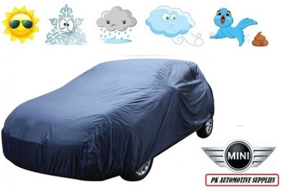 Autohoes Blauw Kunstof Mini Cabrio 2007-
