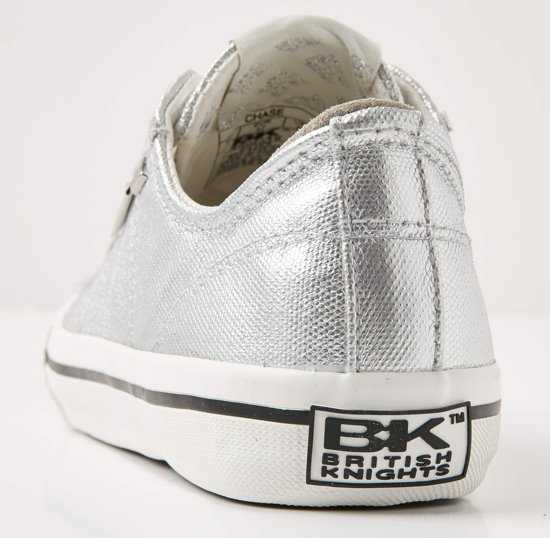 Dames 40 Chase British Zilver Sneaker Knights Maat Laag 1BUREw