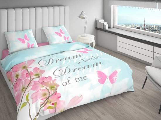 Licht Roze Dekbedovertrek : Bol nightlife dekbedovertrek floral butterfly aquarel